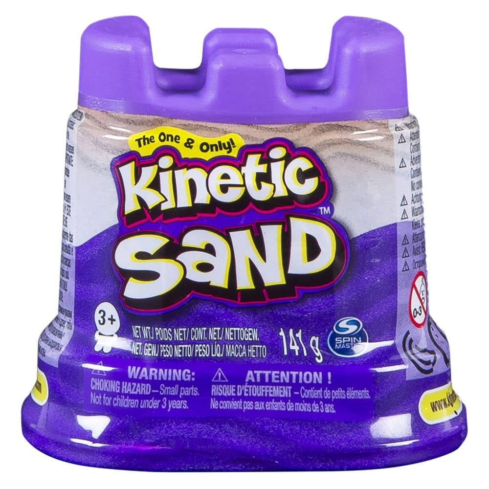 Kinetic Sand Coloured Sand - Purple, 5oz