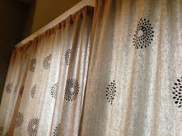 Best Fabrics For Curtains by Drop Cloth Curtains U2013 2 Ways