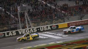 Grant Enfinger Gets Breakthrough NASCAR Truck Series Win At Las Vegas