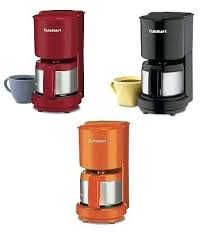 Cuisinart Red Coffee Maker Series 4 Cup Pick Orange
