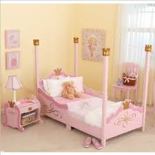 Step2 Princess Palace Twin Bed by Skylo Princess Girls Pink Wood Toddler Bed U0026 Nightstand 2 Piece