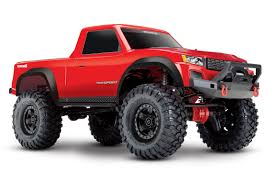 100 Sport Truck Tires Traxxas TRX4 Scale Trail Crawler Red RTR 110