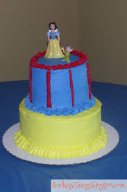 Adventures In Cake Decorating by Snickety Things Adventures In Cake Snow White