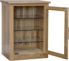 Leslie Dame Sliding Door Media Cabinet by Stereo Cabinet With Glass Doors