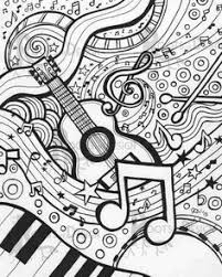 Stunning Ideas Music Coloring Pages For Adults Top 20 Free Printable Online