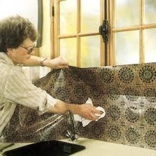 revetement mural cuisine revêtement mural vinyle pvc