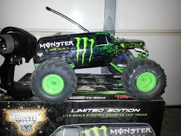 100 Monster Jam Rc Truck Best Traxxasmonster Energy Limited Edition For Sale In