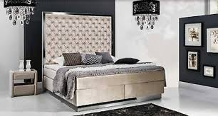 design boxspringbett chesterfield betten bett doppelbett hotel luxus 140x200 neu