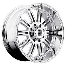 100 Xd Truck Wheels XD Series XD 795 Hoss Chrome MultiSpoke