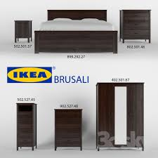 Ikea Brusali Chest Of Drawers by Ikea Brusali 3d Models Free Download