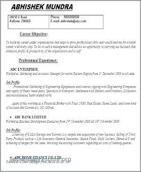 Insurance Resume Objective Sample For Manager Awesome Account
