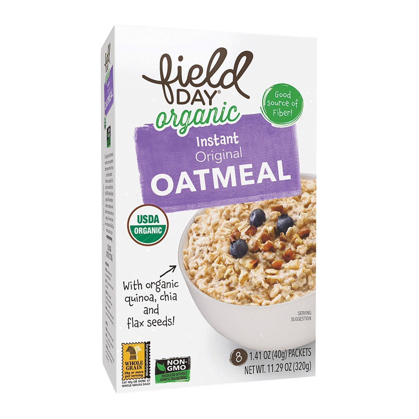 Field Day Organic Instant Original Oatmeal