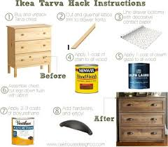 stained dresser diy for ikea tarva hack just