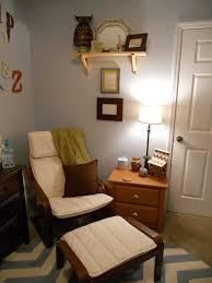 Babyletto Skip Changer Dresser Chestnut And White by Ikea Poang Rocker In Baby Nursery The Nursery Pinterest