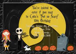 Nightmare Before Christmas Baby Room Decor by Inspired Nightmare Before Christmas Invitation Digital File