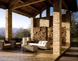Emser Tile Houston North Spring Tx by Outdoor Fireplace Using Travertine Splitface Series In Beige By