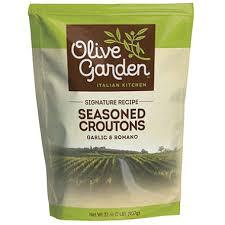 Olive Garden Seasoned Croutons Garlic & Romano 32 oz bag