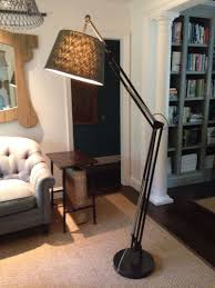 Cb2 Green Arc Lamp by Contemporary Oversized Floor Lamp Design Antwerp Glass Lamps By