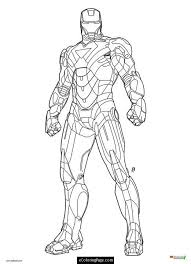 Iron Man Coloring Pages Photo