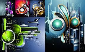 Abstract Art Background Design Vector