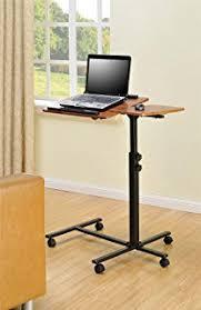 Furinno Computer Desk Amazon by Amazon Com Furinno Fnbl 22090 Boyate Adjustable Rolling Laptop