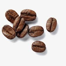 Black Coffee Beans Freshly Ground PNG Image And Clipart