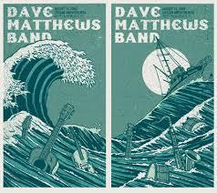 Dave Matthews Band Poster 09 West Palm Beach Set In Entertainment Memorabilia Music Rock Pop