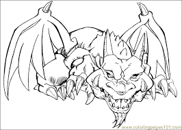 Yu Gi Oh Coloring Page 09