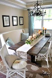 I Love This Dining Room Ive Never Found Such A Great Balance Between Contemporary And Shabby Chic Lovely