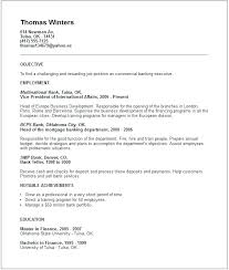 Short Resume Example College Leadership Sample Basic Resumes Examples Objective Bank Executive Top