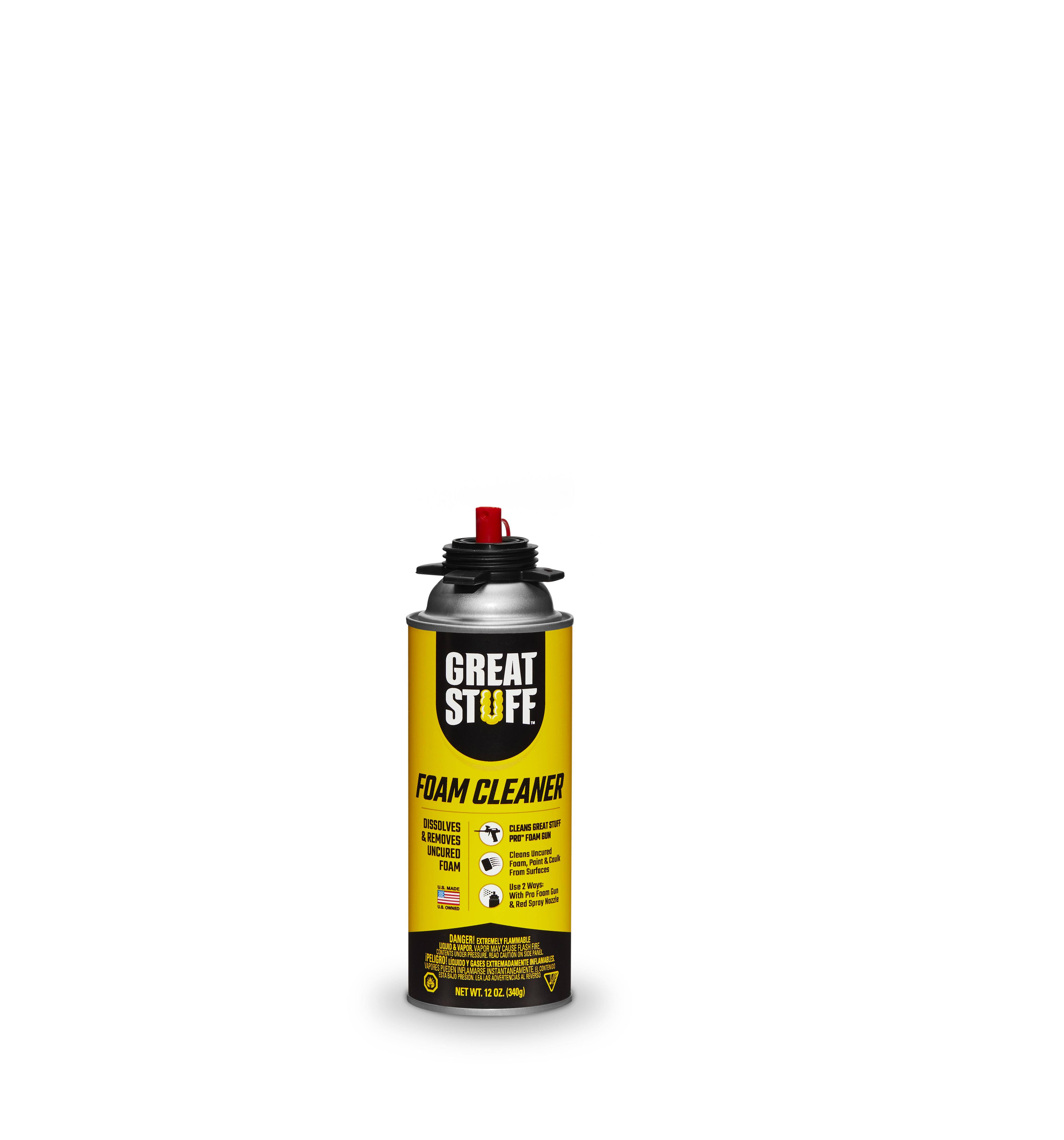 Great Stuff Pro Dispensing Gun Cleaner - 12oz, Surface Supply