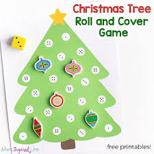 Christmas Tree Math Activity For Preschool