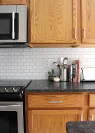 Subway Tile Backsplash For Kitchen New Peel And Stick Subway Tile Backsplash Tag Tibby Design