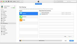 About File Sharing on iPhone iPad and iPod touch Apple Support