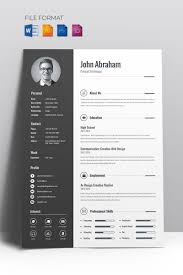 Minimal Creative CV Resume Template | New Website Templates ... Creative Resume Printable Design 002807 70 Welldesigned Examples For Your Inspiration Editable Professional Bundle 2019 Cover Letter Simple Cv Template Office Word Modern Mac Pc Instant Jeff T Chafin Templates Free And Beautifullydesigned Designmodo The Best Of Designwriting Samples Graphic Mariah Hired Studio Online Builder A Custom In Canva