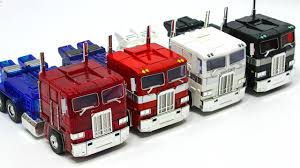 Transformers G1 Oversized MPP-10 CLEAR RED BLACK WHITE Optimus Prime ...