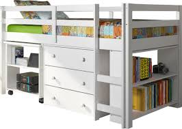 Low Loft Bed With Desk And Dresser by Viv Rae Zechariah Twin Low Loft Bed With Storage U0026 Reviews Wayfair