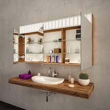spiegelschrank fürs bad doppelt verspiegelt madrid