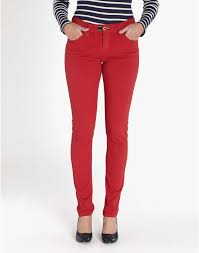 womens red jeans jeans to