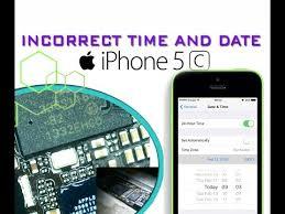 Fix iPhone 5C Incorrect Clock and Date Issue Naprawa błędnej