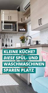 spül und waschmaschinen für kleine küchen waschmaschine