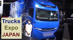 Japanese Truck Expo (new Trucks 2018) - YouTube