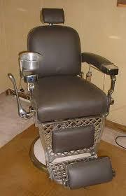 Emil J Paidar Barber Chair Headrest by Berliner Classic Mantiques