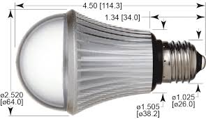 energy saving a19 led bulb dimmable 8 watts replace up to 75 watts