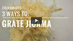 3 Ways To Grate Jicama By Cook Smarts Cooksmarts On Vimeo