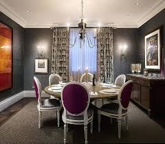 How To Decorate The Dining Room With A Dazzling Wallpaper Feature Ideas For