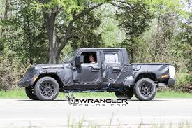 JT Wrangler Truck Testing On Public Roads, Shows Spare Tire Mount ... Jeep Truck Starts Undressing Possibly Unveils Price Before 2019 Out With The Old Wrangler Last Jk Rolls Off Assembly Line To Make 2018 Confirmed Spawn Crew Cab Pickup Starwood Motors The Bandit 4 Door Cversion Now And Customizing Willowbrook Chrysler Langley Jeeptruck Winch Buyers Guide Superwinch Rendered For 100 Is This Custom 1994 Cherokee A Good Sport Awesome Rubicon Chevrolet Car Unwrapping News Ledge Scrambler Could Debut In Los Angeles Carscoops Jeeps Head Of Design Built Himself Best Ever Outside Online