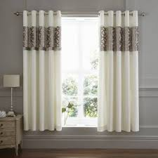 catherine lansfield gardinen set mit ösen transparent
