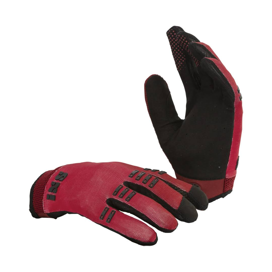 iXS BC-X3.1 Bicycle Glove - Red & Black, X-Large