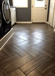 Floor And Decor Houston Area by Love Wood Tile In A Herringbone Pattern Such A Great Look And So